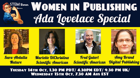 Celebrating Women in Publishing - Google Hangout Today